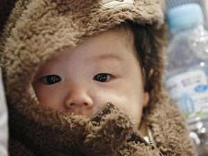 japanisches Baby