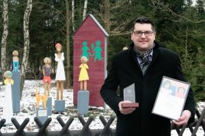 René Rose, Vertriebsleiter der McCrazy GmbH, freute sich sehr, bei der Preisverleihung das SOS-Kinderdorf in Harksheide kennenzulernen.