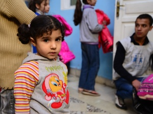 Eine Generation ohne Perspektive? Der seit drei Jahren anhaltende Krieg in Syrien trifft besonders die Kinder.