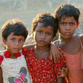 320.000 Rohingya Kinder sind im Oktober 2018 auf der Flucht